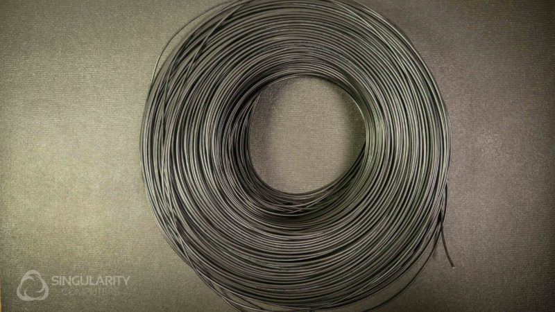 Wire 16AWG Black