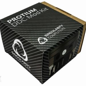 Protium DDC Mod Kit - Frosted Acrylic Silver