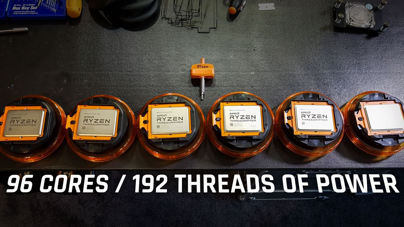 96 cores / 192 threads of Power