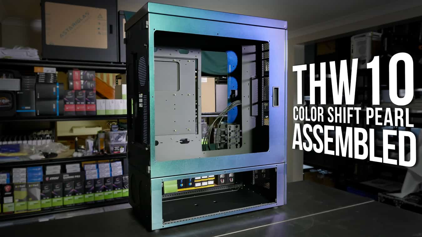 THW10 Color Shift Pearl: Assembled
