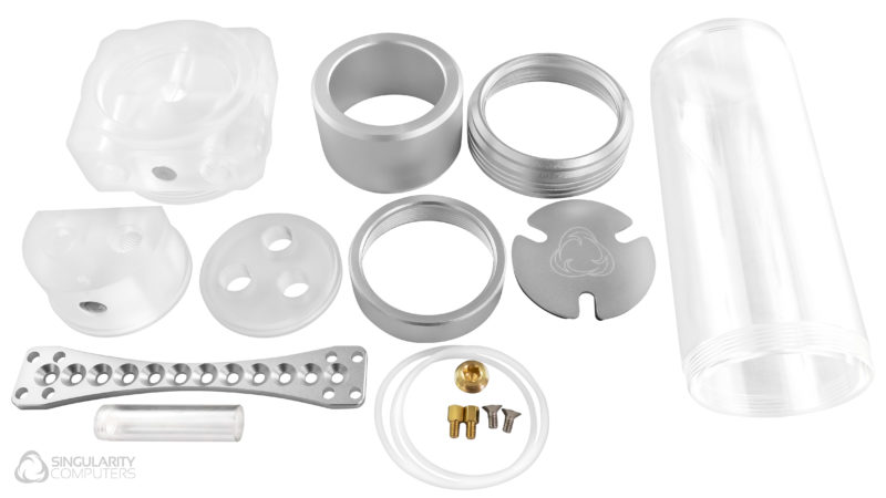SC Protium 150 D5 – Reservoir Combo – Frosted Acrylic Silver