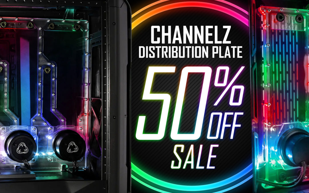 50% Off Selected Channelz Distribution Plates